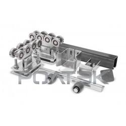 Ролтэк ЭКО комплект для откатных ворот до 500 кг (5м)