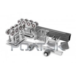 Ролтэк ЕВРО комплект для откатных ворот до 800 кг (6м)