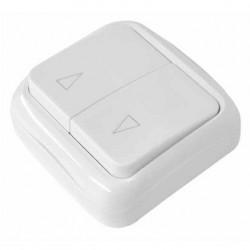 SWB Выключатель клавишный  для накладного монтажа (ROLLHAN)