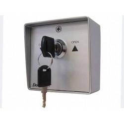 SWM Выключатель металлический  кнопка-ключ для рольставен (DOORHAN)