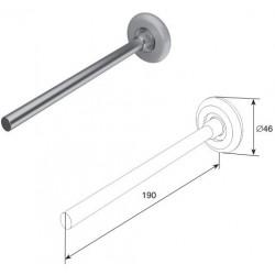 25011B DoorHan Ролик для секционных ворот (190 мм)