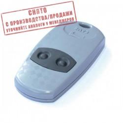 001TOP-432EE Брелок-передатчик 2-х канальный. Новый дизайн