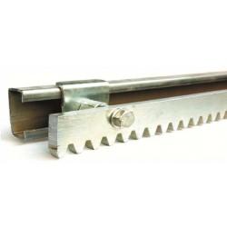 Комплект для крепления зубчатой реки откатных ворот (проем ш. 4 м)