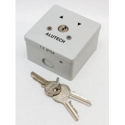 ALUTECH SAPF выключатель замковый (ключ-кнопка) для наружного монтажа