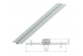 80039U/M DOORHAN Петля калиточная алюминиевая усиленная (п/м)