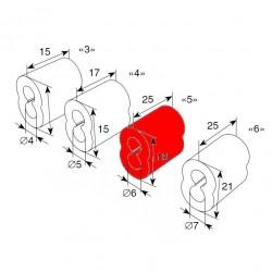 25103 DoorHan Втулка для троса 5 мм