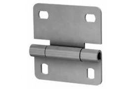 N25233-1/RAL9003 DOORHAN Внутренняя петля облегченная для панелей с новой формой профиля RAL9003 (шт.)