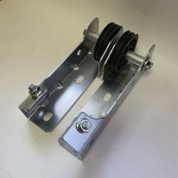 SPN0801 DoorHan Кронштейн крепления двойного шкива