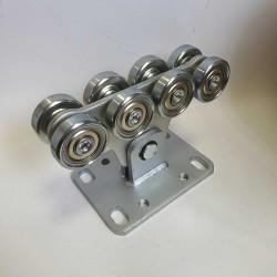 SGN.01.150 Alutech Опора роликовая (стальные ролики) для ворот до 450 кг.