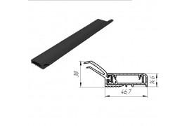 SPV078 DOORHAN Внешний уплотнитель секционных ворот L-6000 мм. Цвет черный. (шт.)