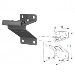 N25008/RAL9003 DoorHan Верхняя опора с держателем ролика