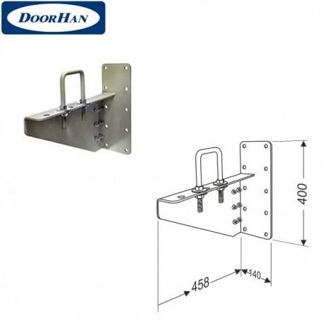 DHK13011 DoorHan Кронштейн выносной для низкого вала правый в сборе с элементами крепежа