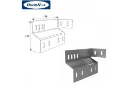DH24623 DOORHAN Пластина соединительная концевого кронштейна с угловой стойкой (пара)
