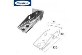 DHS20350 DOORHAN Крышка задняя для балки 71х60х3,5 DHS203060