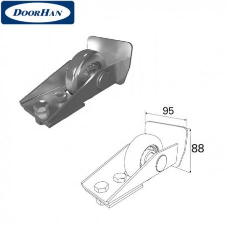 DHS20130 Ролик концевой в сборе для балки 95х88х5 DHS201060
