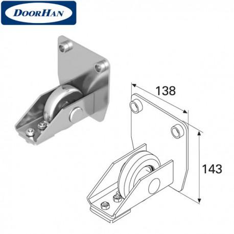 DHS20230 Ролик концевой в сборе для балки 138х144х6 DHS202080