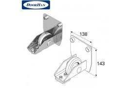 DHS20230 DOORHAN Ролик концевой в сборе для балки 138х144х6 DHS202080